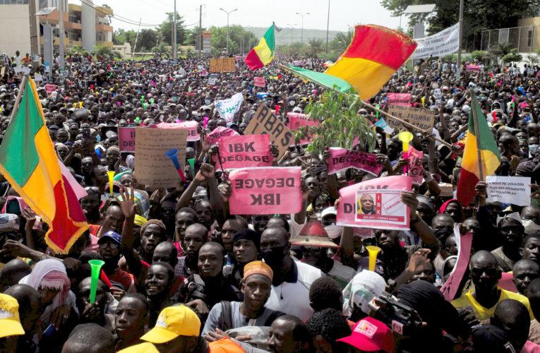 Tens Of Thousands Malians March To Seek Resignation Of President Keita