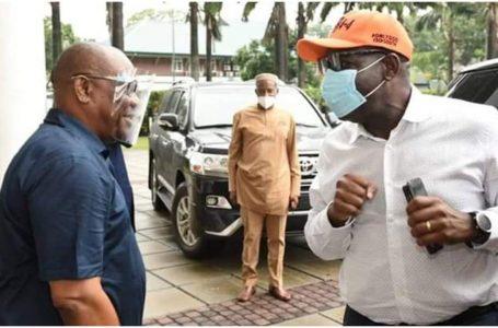 PHOTOS: Obaseki Visits Wike In Port Harcourt