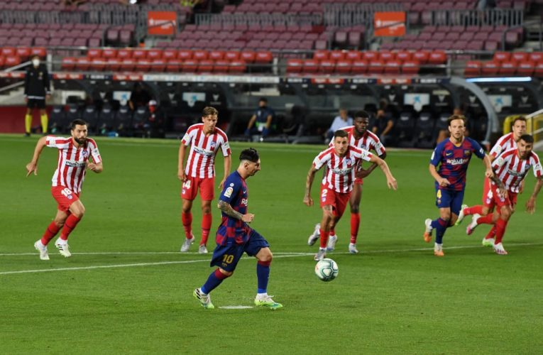 Messi Scores 700th Career Goal With Penalty Against Atletico Madrid