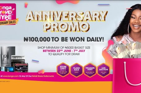 Konga Offers Special Prices In Flash Sales To Mark 8th Anniversary Today