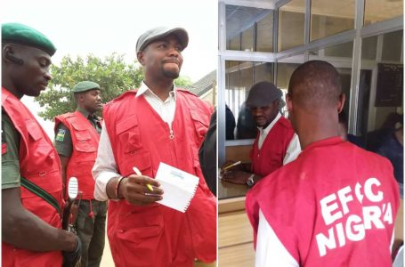 Mohammed Umar Resumes As Acting EFCC Chairman