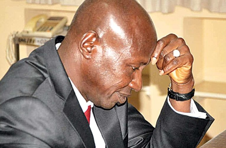 Buhari Approves Magu's Suspension, Appoints Umar To Head EFCC