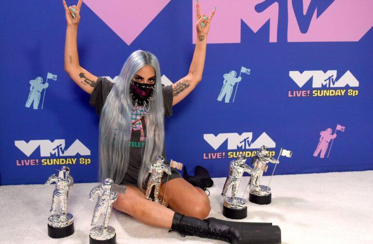 Lady Gaga Shines  at MTV VMAs