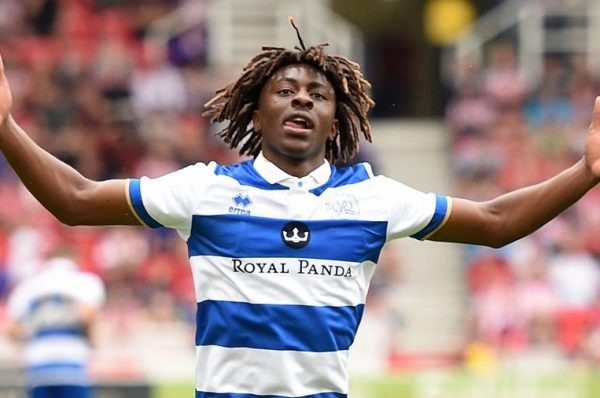 Crystal Palace Sign Eberechi Eze From QPR