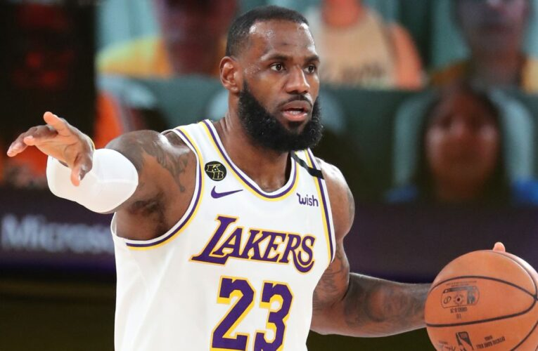 LeBron James Leads Lakers To NBA West Conference Finals