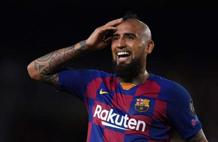 Vidal Moves To Inter Milan From Barcelona For One Million Euros
