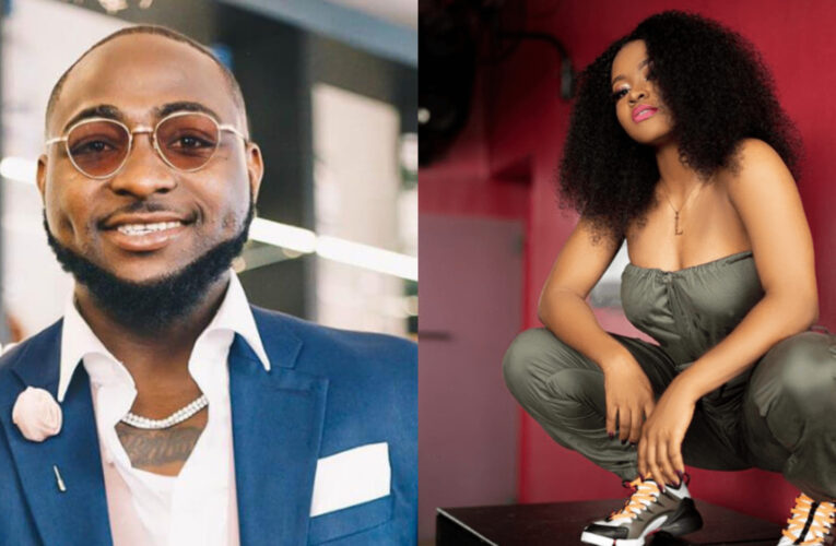 Davido Signs First Female Artist, Liya