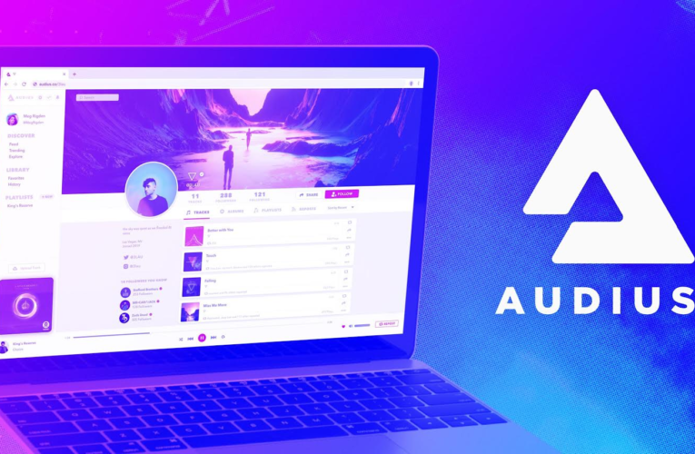 Crypto For Music, AUDIO Up By 500%