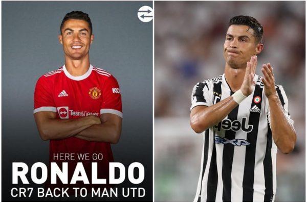 BREAKING: Juventus' Cristiano Ronaldo Joins Manchester United