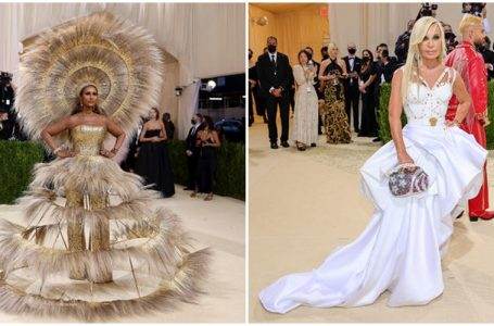 Photos: See World's Favourite Celebrities' Red Carpet Arrivals At The 2021 Met Gala