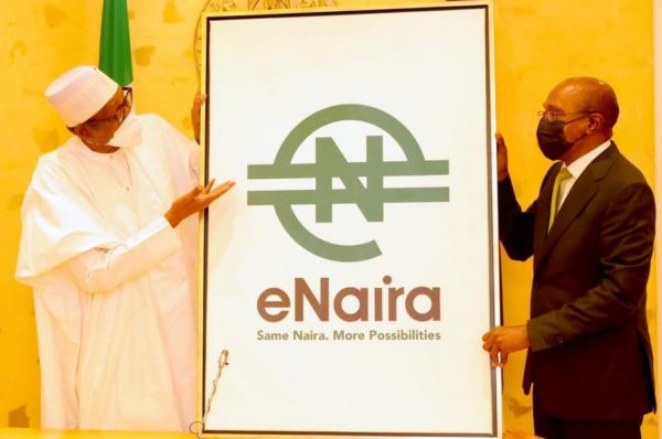 Buhari Unveils eNaira, Says Nigeria's GDP Can Rise By $29bn In 10 years